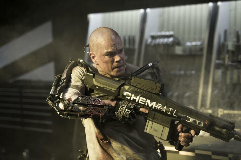 Matt Damon in Neill Blomkamps Elysium
