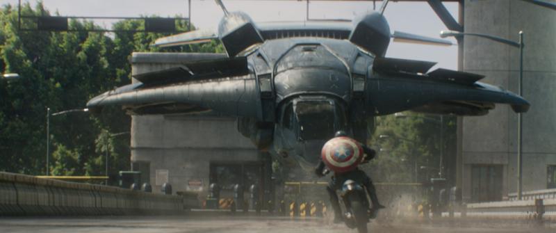 """The Return of the First Avenger"":  Captain America gegen das System"