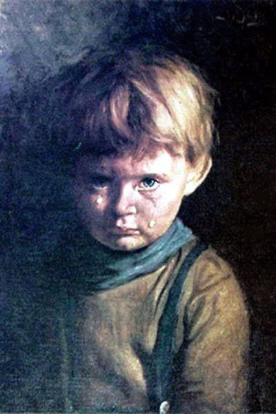 Bruno Amadio - The Crying Boy