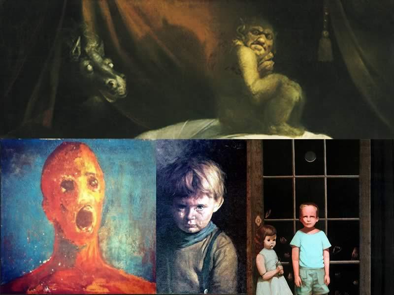 Vier Verstörende Gemälde, die sich niemand an die Wand hängen sollte