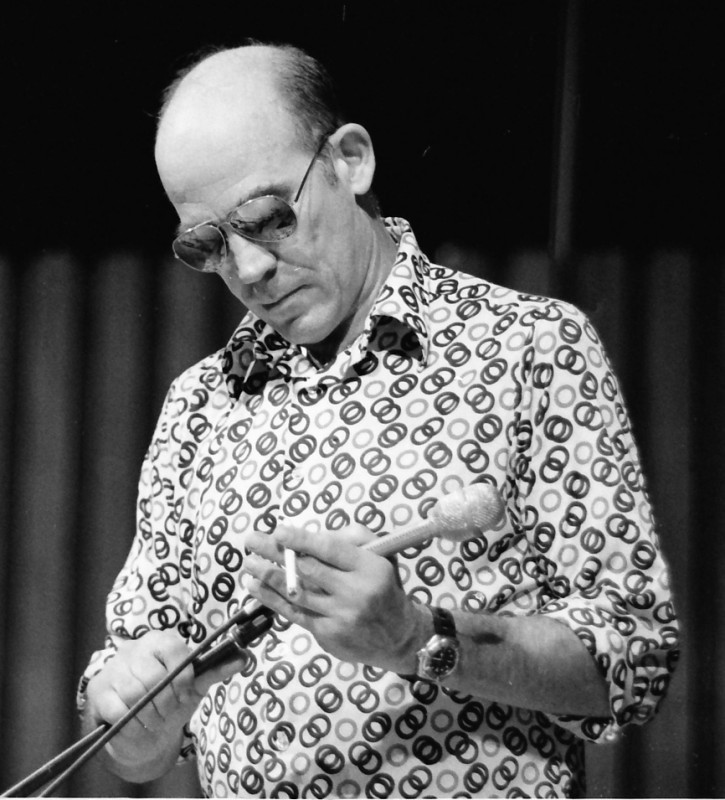 Begründer des Gonzo-Journalismus: Hunter S. Thompson auf der Miami Book Fair International, 1988