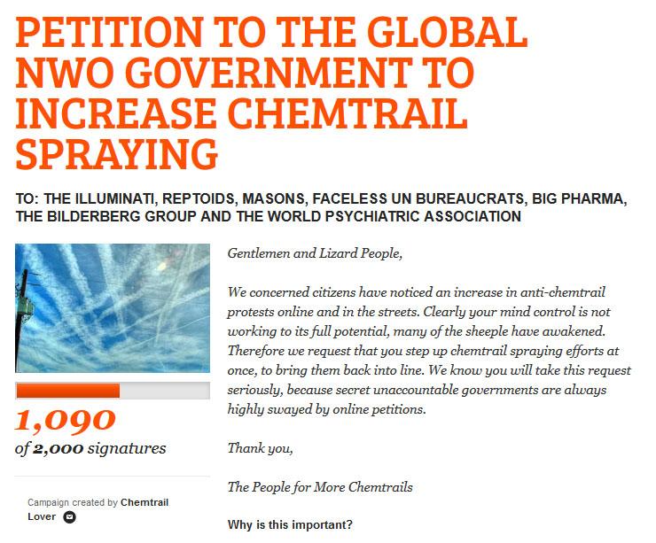 Petition Screenshot