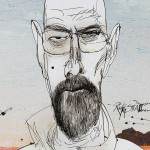 Breaking Bad Ausstellung in Berlin mit Illustrationen von Ralph Steadman
