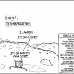 Die Landung von Philae (aus der Sicht von Philae und Rosetta)