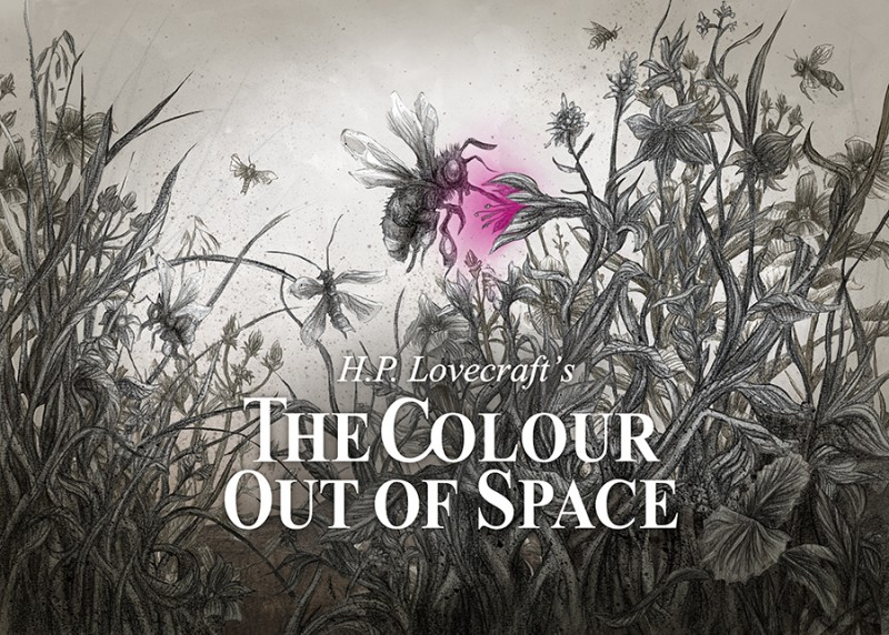 "H. P. Lovecraft's ""The Colour Out of Space"" – A Dark Doom Drone Picture Show in Slow"